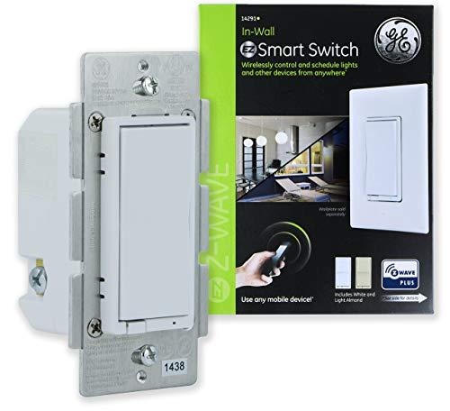 GE Enbrighten Light Almond Z Wave Plus Smart Light Dimmer Now $27.09