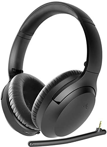 Avantree Aria Bluetooth 5 0 Active Noise Cancelling Headphones Headset for Music Calls Boom product image