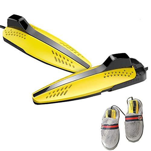 DRY&DRY TYX- Schuhtrockner Elektrischer Schuhwärmer Schuhheizung mit Timer für Fußballschuhe,Skischuhe, Lederschuhe,Stiefel, Handschuhe usw, Geeignet für alle Familien(Größe: 17.5 x 6.2 cm, 20 W)