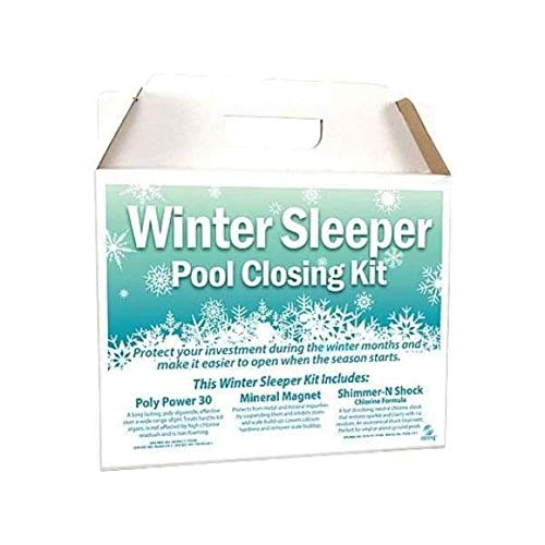 Hot Tub Classic Parts Pool Chlorine Winter Pool Closing Kit Up to 15,000 Gallons WS1500