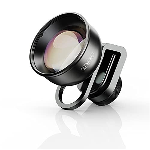 CXSD Versión actualizada HD kit de lentes de teléfono -Fisheye + gran angular + macro dual + extendido + gran angular de 170 grados para la mayoría de teléfonos