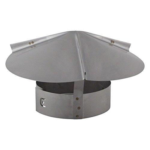 Chimney Flue Cone Top Rain Cap - Stainless Steel 12 inch