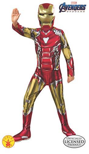 Rubies Taglia M Costume da Hulk et/à 5-7 Anni Altezza 132 cm Ufficiale Avengers Endgame Hulk