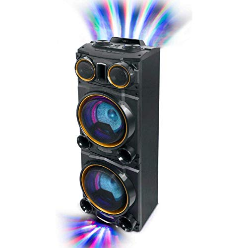 Altavoz Maleta MUSE M-1988 DJ Party Box Color Negro, 800W