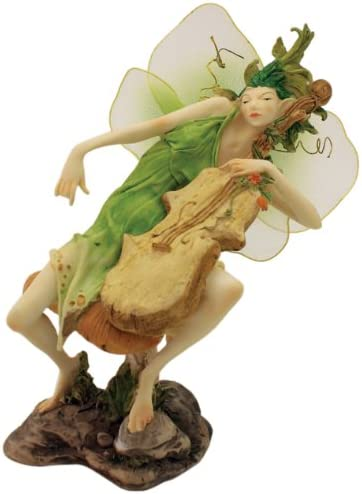 Top 特価品コーナー☆ Collection Enchanted Story Garden Playing Fairy Cello 誕生日プレゼント