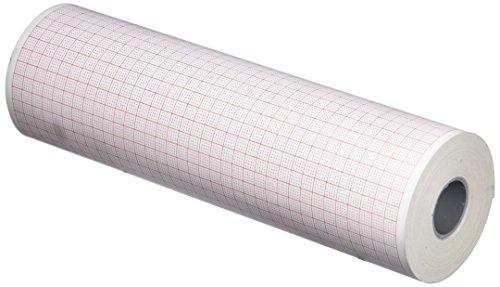 tecnocarta rm4418303019e rollo de papel térmico para ECG compatible con Cardioline Delta 30/60, 183mm x 30m