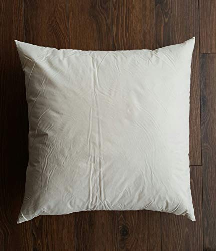 Inserto de almohada alternativo de varios tamaños de gel de plumón, inserto de almohada vegano