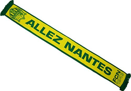 FC NANTES Echarpe FCNA - Collection Officielle Atlantique - Canaris - Football Ligue 1-140 cm