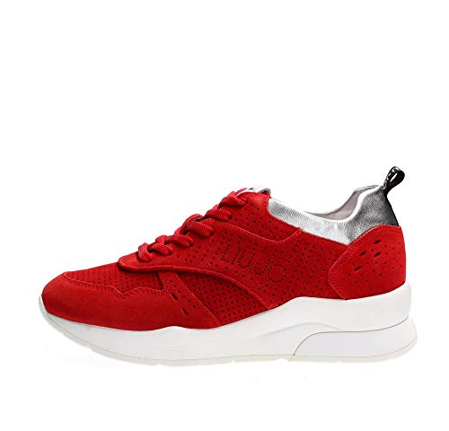 Liu Jo B19009 PX025 Sneakers Donna Rosso 36