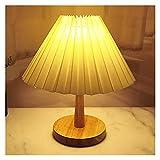 Lámpara de Mesa Lámpara de Mesa plegada Lámparas de Mesa para Sala de Estar Dormitorio Home Deco Lámpara de Escritorio Linda con lámpara LED Tricolor Junto a la lámpara