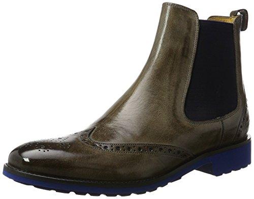 Melvin & Hamilton Damen Amelie 5 Chelsea Boots, Grau (Classic Stone/Ela.Navy/WL Blue), 41 EU