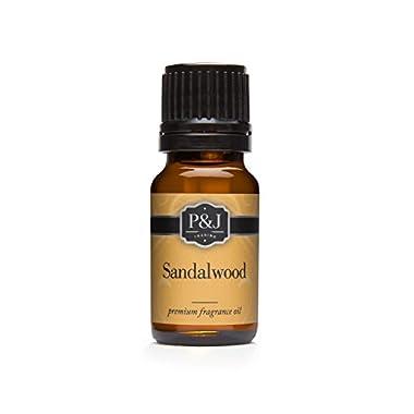 Sandalwood Premium Grade Fragrance Oil - Perfume Oil - 10ml