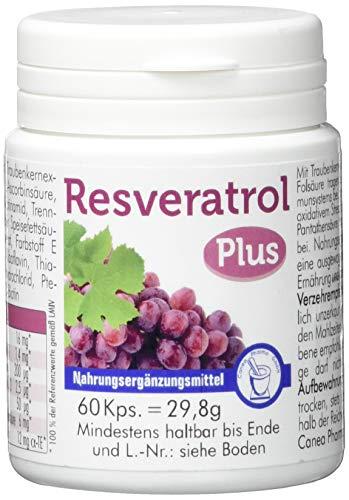 Pharma-Peter RESVERATROL PLUS Kapseln, 60 Kapseln
