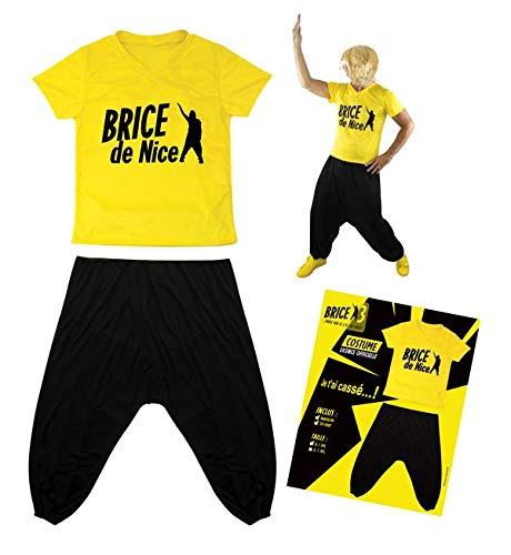 P'TIT CLOWN - 84102 - Costume ado Brice de Nice - Taille 14-16 ans