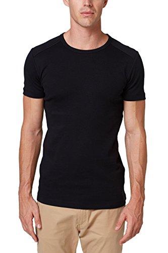 ESPRIT Herren 998EE2K816 T-Shirt, Schwarz (Black 001), XX-Large