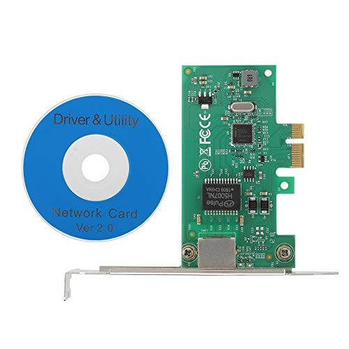 Netwerkkaart Small Board, 10/100/1000 Mbit / s Gigabit Wireless Ethernet, PCI-E, 1 x slot bus type, RJ45 netwerkinterface, UTP categorie 5, draadloze netwerkadapter voor Intel 82574I Gigabit-Contro