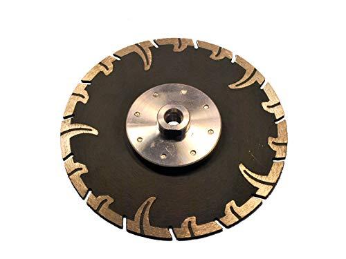 Diamant Trennscheibe mit Flansch M14 Durchmesser 180 mm