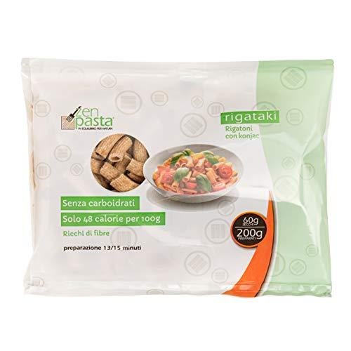 Zen Pasta Macarrones De Konjac Deshidratados Rigataki 60 g