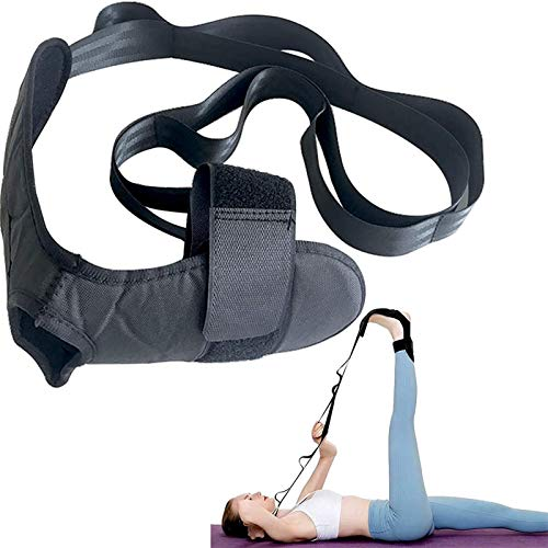 ZAYALI Yoga Ligament Stretching Belt, Pain-Away Solo Stretcher, Fitness Foot and Leg Stretcher for Plantar Fasciitis, Stretching Belt Foot Ankle Joint for Relieves Muscle Pains
