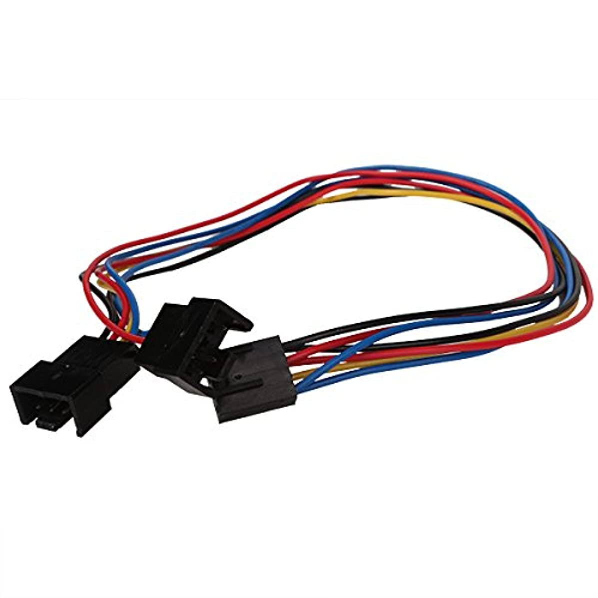 30cm PC Fan Connector 4 Pin to 2x 4pin/3pin PWM Thermostat Extension Cable