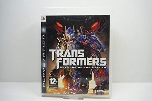 Transformers Revenge Of The Fallen Ps3 Ver. Reino Unido