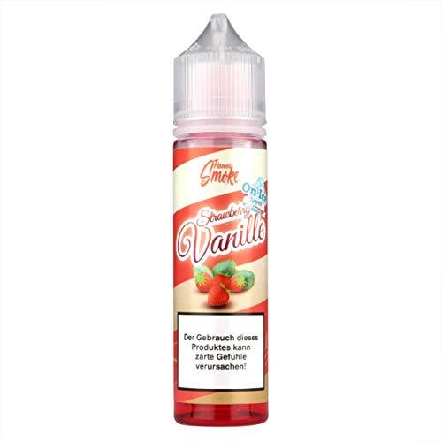 Flavour Smoke Aromakonzentrat Strawberry Vanille ICE, Shake-and-Vape zum Mischen mit Basisliquid für e-Liquid, 0.0 mg Nikotin, 20 ml