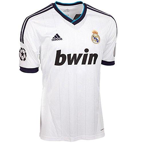 adidas Real Madrid C.F. - Camiseta de fútbol (3ª equipación) para niño, 2012-13, L