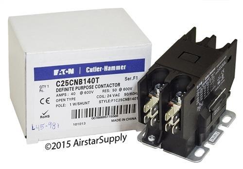 Dfinit Prpose Contactr, 24VAC, 40A, 1P, Open