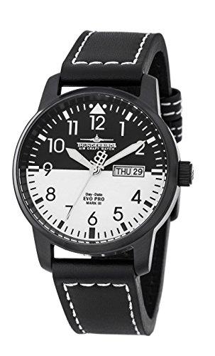 Thunderbird EvoPro 5ATM Datum Wochentag- ZB schwarz/weiß -