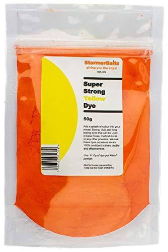 starmerbaits Dye: Yellow | Size: 50g