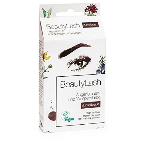 Beauty Lash Färbeset Sensitive, dunkelbraun, 7 ml