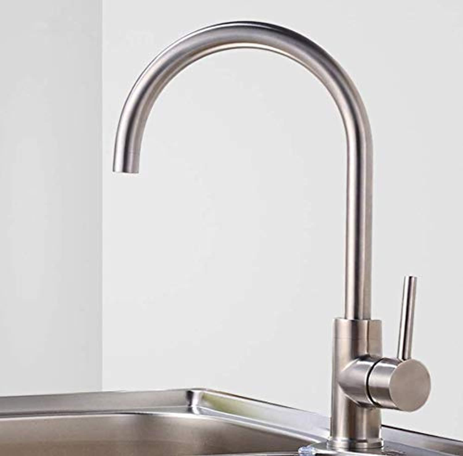 Kitchen Faucet Kitchen Faucet Stainless Steel Faucet Hot and Cold redating Sink