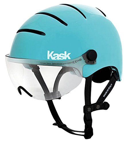 Kask Helm Lifestyle Umfang 48-58 cm Mit Visier, hellblau, M