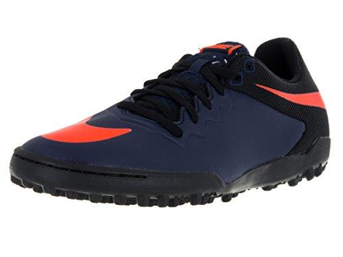 Nike Hypervenomx Pro TF, Botas de fútbol para Hombre, Azul (Azul Marino (Mid Nvy/Ttl Orng-Blk-Gm Lght B), 39 EU