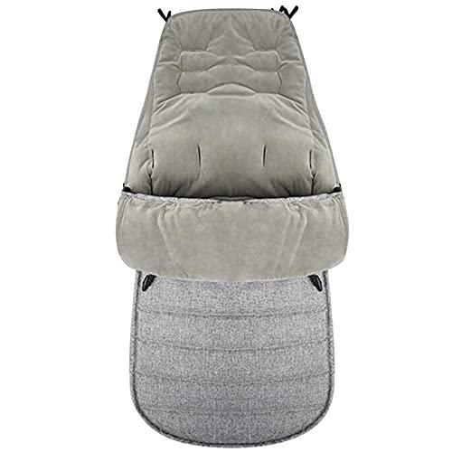 Ashley GAO Impermeable caliente invierno cochecito de bebé saco de dormir saco de dormir manta para bebé niños Cochecitos Accesorios