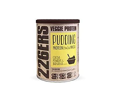 226ERS Evo Vegan Protein Pudding, Mezcla para Pudín de Proteína Vegano con Harina de Guisantes y Maca, Cocoa & Plátano - 350 gr