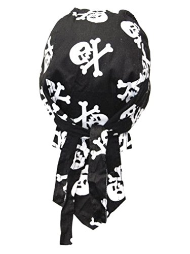 armardi b Bandana casquette Tête de Mort avec os