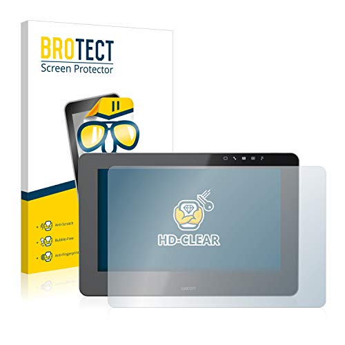 BROTECT Protector Pantalla Compatible con Wacom Cintiq Pro 13 Protector Transparente Anti-Huellas