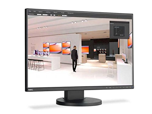 NEC EA245WMi-BK Monitor BackLit Value Widescreen 24', color Negro