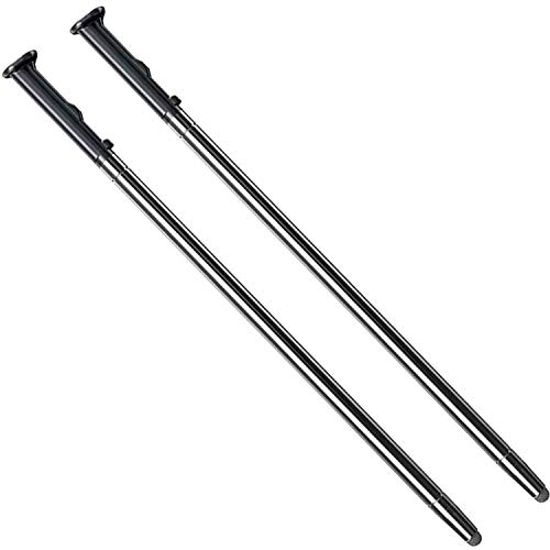 2 Pack Aurora Black LCD Touch Screen Stylus Pen Replacement Parts for LG Stylo 5,Stylo 5 Plus,Q720 Boost AT&T TracFone Verizon Spectrum Xfinity T-Mobile Sprint Cricket Wireless