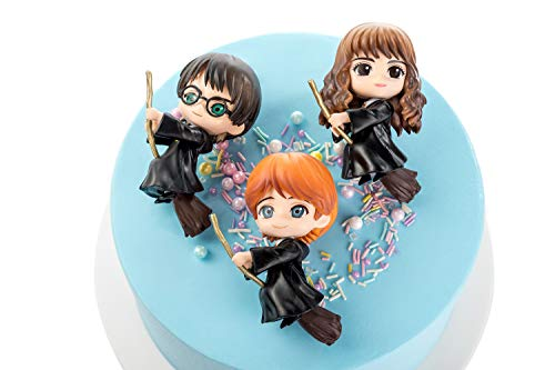 Harry Potter cake toppers figures Characters set of 3 exquisite Action Figure cake decoration child playset toys