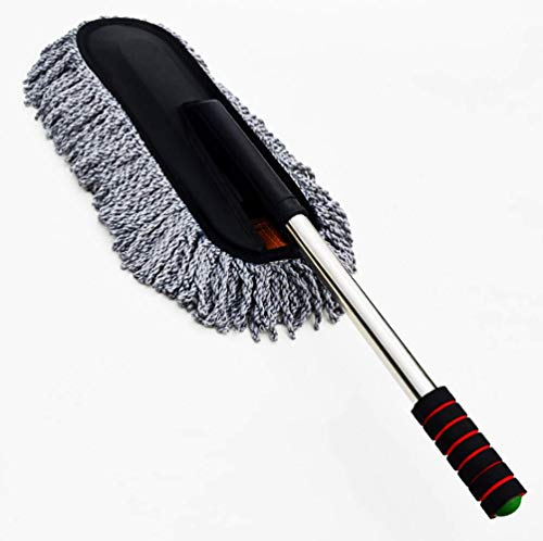 Car Wash Brush Car Duster Remover Car Wax Drag Microfiber Car Brush Modular Design, Easy to Disassemble for Washing the Car,Car Accessories Indoor Use Cleaning Tools