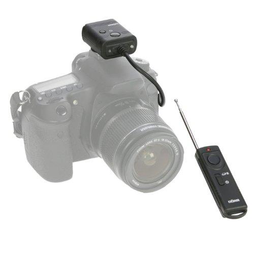 Dörr 371463 - Mando a distancia (Cámara digital, RF inalámbrico, Negro)