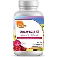 Zahler Junior D3 K2 Chewable Vitamin D with K2