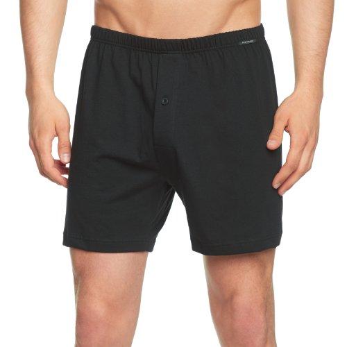 Schiesser Herren Boxershorts Boxershorts Schiesser Boxershorts, Schwarz (Black 000), Large