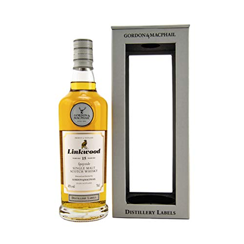 Linkwood 15 Jahre - Gordon & MacPhail Distillery Labels - New Range - 43% - 0,7l - Speyside Single Malt Whisky