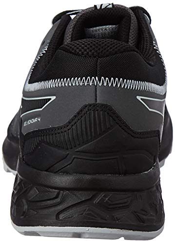Asics Gel-Sonoma 4, Zapatillas de Running Hombre, Negro (Black/Stone Grey 002), 42 EU