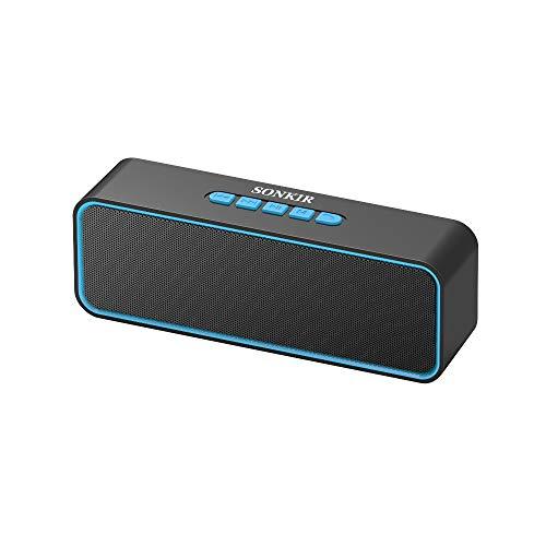Sonkir Portable Bluetooth Speaker, TWS Bluetooth 5.0 Wireless Speaker with...