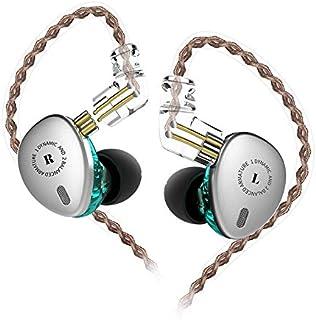 KBEAR KB06 in-Ear Monitor, 6 Drivers Hybird Units Mini Metal in-Ear Earphone High Resolution Earbud Headphone 0.75mm C pin...