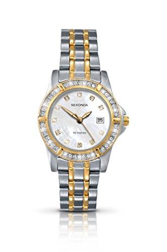 Sekonda Damen-Armbanduhr Analog Quarz 4174.28